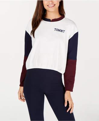 Tommy Hilfiger Colorblock Logo Lounge Pullover