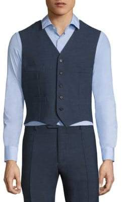 Saks Fifth Avenue x Traiano COLLECTION Colorblock Single-Breasted Vest
