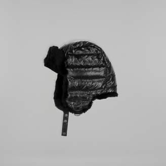 Mackage MEZLAN-X unisex lightweight down aviator hat