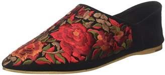 Jeffrey Campbell Women JCSVIJAYFLR-BLKRED Loafers Multicolour Size: