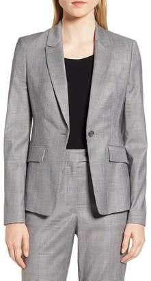 BOSS Jofilia Glencheck Jacket