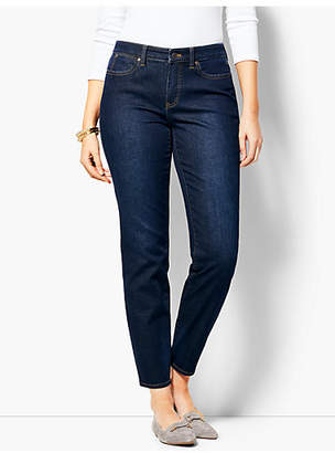 Talbots Slim Ankle Jean - Curvy Fit/Indy Wash