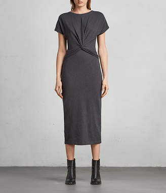 AllSaints Paloma Long Dress