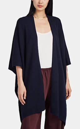 The Row Women's Hern Cashmere Sweater Cape - Navy