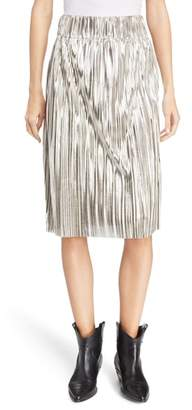 Etoile Isabel Marant Delphina Metallic Skirt