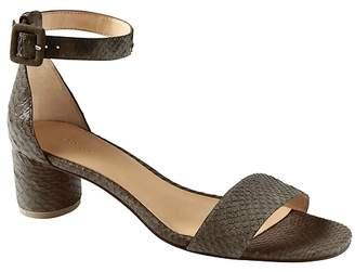 Banana Republic Bare Low Block-Heel Sandal