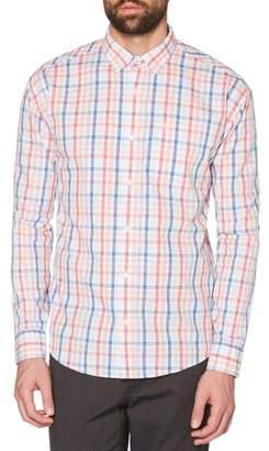 Original Penguin P55 Space Dye Plaid Shirt