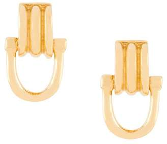 Wouters & Hendrix A Wild Original! dangling clasp stud earrings