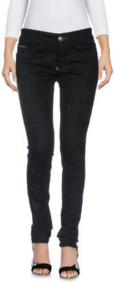 Philipp Plein Denim pants - Item 42666482XO