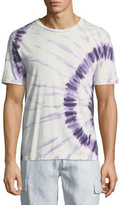 Vince Men's Tie-Dye Crewneck T-Shirt