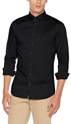Seidensticker Men's Dress Shirt Formal Shirt Business Shirt Extra Slim Fit Long Sleeve Collar Kent Non-Iron