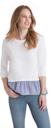 Vineyard Vines Mixed Media Sweatshirt