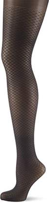 Elbeo Women's Transparent sheer tights,(Manufacturer Size:II)