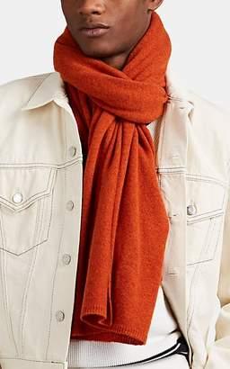 Barneys New York Men's Cashmere Scarf - Orange