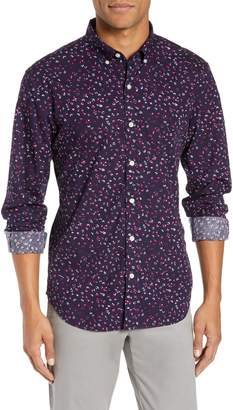 Bonobos Washed Button Down Slim Fit Floral Sport Shirt