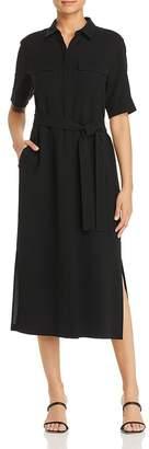 Lafayette 148 New York Doha Belted Shirt Dress
