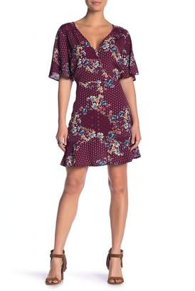 Band of Gypsies Samantha Printed Mini Dress