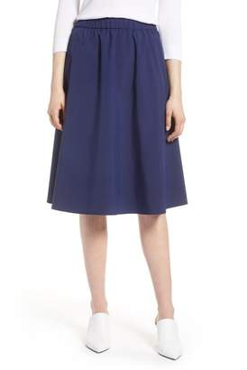 Halogen A-Line Midi Skirt (Regular & Petite)