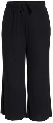 BP Ribbed Wide Leg Crop Pants