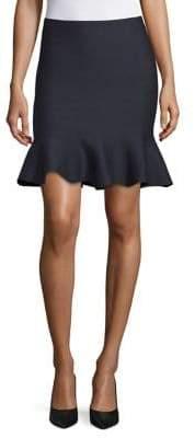 Dex Flared Sweater Skirt