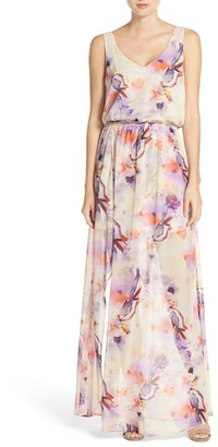 Women's Show Me Your Mumu Kendall Soft V-Back A-Line Gown $162 thestylecure.com