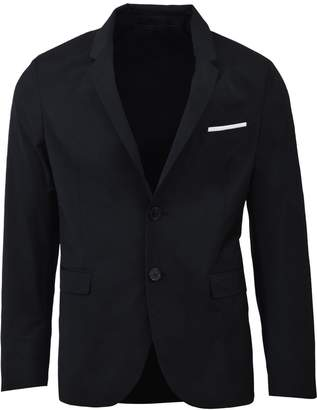 Neil Barrett Black Buttoned Blazer