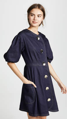 Paper London Anita Puff Sleeve Dress