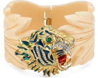 Gucci Rajah resin leaf bracelet