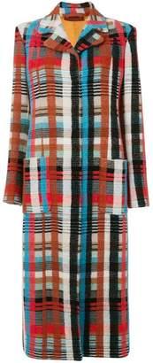 Missoni long knitted cardi-coat
