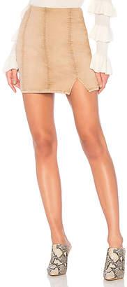 Free People Femme Fatal Pull On Skirt