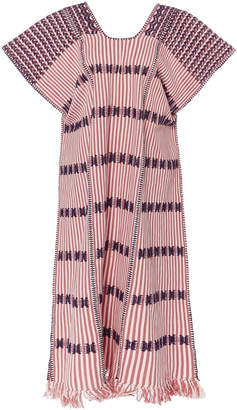 Pink And Purple Striped Dress Shopstyle