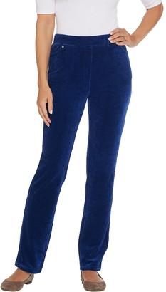 Factory Quacker Short Corduroy Straight Leg Pants w Pockets