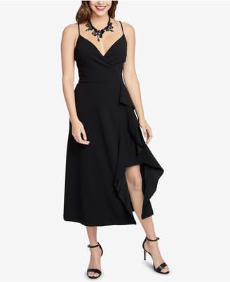 Rachel Roy Ruffled Faux-Wrap Dress