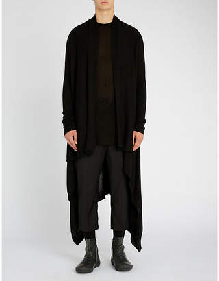 Rick Owens Open-front cashmere cardigan