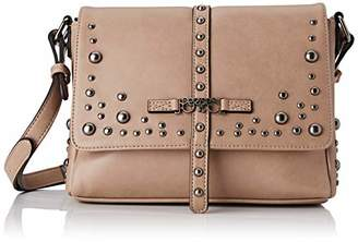 Le Temps Des Cerises Women's LTC5C4G Cross-Body Bag Beige