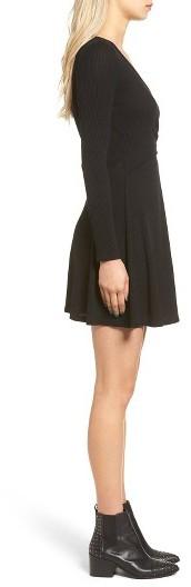 Women's Everly Rib Knit Wrap Dress 3