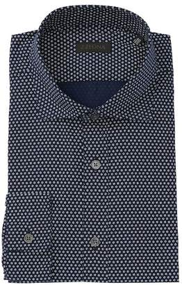 Ermenegildo Zegna Floral Dress Shirt