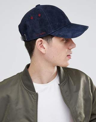 Ted Baker Jasz Baseball Cap in Suede