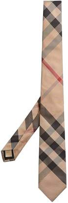 Burberry modern-cut check tie