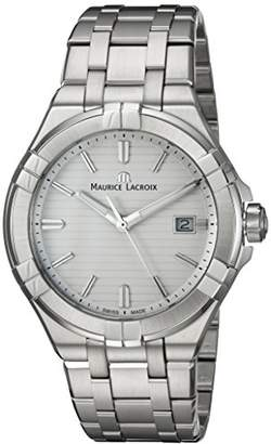 Maurice Lacroix Men's 'Aikon' Quartz Stainless Steel Casual Watch