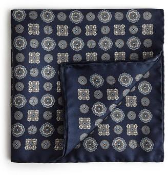 Reiss Owen Silk Pocket Square