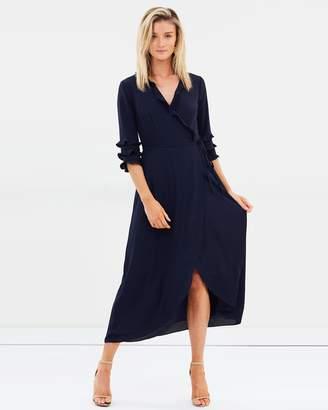 Cooper St Bridgette Maxi Wrap Dress
