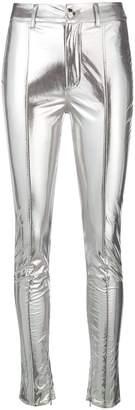 Genny mirror skinny trousers