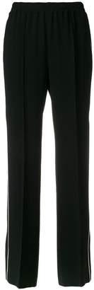 Alberto Biani side stripe trousers
