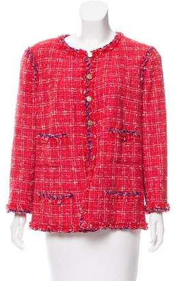 Chanel Tweed Structured Jacket