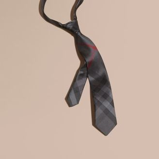 Burberry Modern Cut Check Silk Tie $195 thestylecure.com