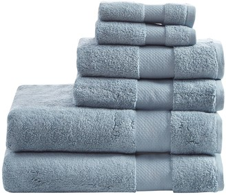 Madison Home USA 6-piece Turkish Bath Towel Set