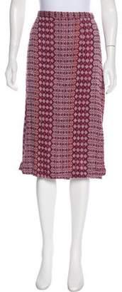 Ace&Jig Knit Knee-Length Skirt