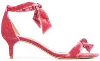 Alexandre Birman ribbon detail sandals