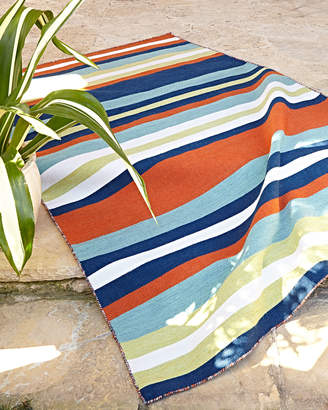Horchow Carlotta Outdoor Rug, 8' Square